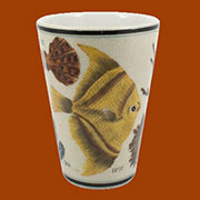 Aquatic Nautical Porcelain Cup by Homart HA-7008-21