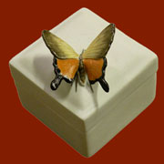 Butterfly Lidded Box HA-7076-164