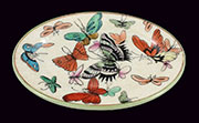 Montage Butterfly Oval Tray HA-7128-122