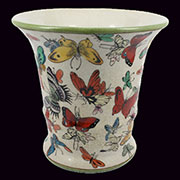 Homart Montage Butterfly Cache Flared Pot HA-7033-122