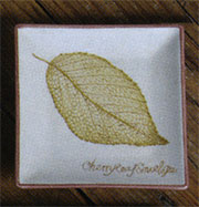 Homart Cherry Leaf Tray Discontinued, will not ship