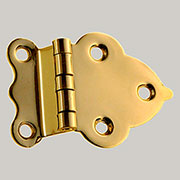 Hoosier Style Cabinet Hinge Brass Sold Each Not Pairs I-11 BM-1600PB