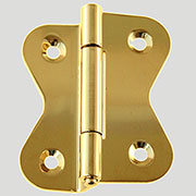 Hoosier Cabinet Hinge Brass Sold by Each Not Pairs I-34 BM-1602PB