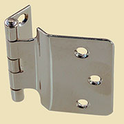 Hoosier Sellers Offset Nickel Plated Hinge Sold by Each Not Pairs I-46N BM-1627PN