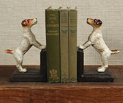 Jack Russell Terrier Pair of Book Ends HA-1945-0