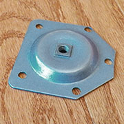 Table Leg Mounting Plate for Straight Leg S-325STRTU