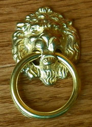 Victorian Lion Ring Pull B-1205