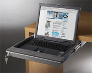 Lockable Lap Top Keyboard Slide Out Drawer Tray  Large