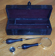 Magnifying Glass, Letter Opener, and Compass AA-51748