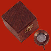 Map Magnifying Glass with Wood Case UDA-952