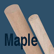 Maple Dowel Rod 10 Count 3/8 Inch Diameter by 36 Inches W1-6606