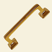 McDougall Drawer Pull Cast Brass P-123 BM-1113PB