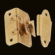 Cheval Swivel Mirror Side Mount Mirror Support Brass Pair S135P