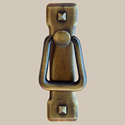 Arts and Crafts Mission Style Antique Brass Drawer Door Pull  AD-0679 BM-6016
