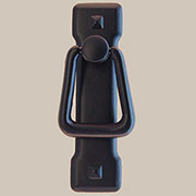 Arts and Crafts Mission Style Black Drawer Door Pull BL-0679 BM-6036