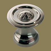 Colonial Revival Knob in Polished Nickel BM-1246PN