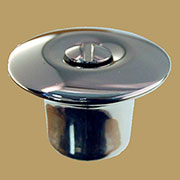 Hoosier Cabinet Knob Hollow Nickel Plated HBK-5N BM-1245PN