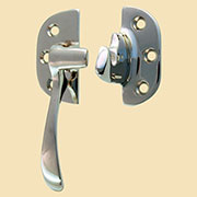 (C) Left Hand Nickel Plated Brass Ice Box Door Latch IB-30N N-2006 BM-1506PN