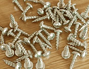 Round Head Phillips Head Nickel Plated Finished Screws 5/8 x5