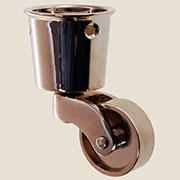 Cup Caster Nickel Plated Brass  BM-1374PN