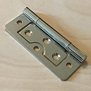 3 Inch Nickel Plated Non Mortise Hinge Between Door and Cabinet HS-2663N