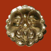 Victorian Brass Knob B-0300 North Wind Design