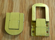 Latch in Brass OBL-2287BB