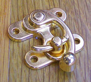 Brass Finished Purse Latch OBP-2127GOLD