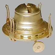 Brass Oil Lamp Burner #2 B-9521