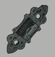 Black Cast Iron Lamp Wall Bracket BL-9510