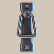 Arts and Crafts Mission Style Pewter Drawer Door Pull PW-0679 BM-6026 Vertical