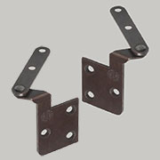 Back of Door Pivot Hinge Pair H-273BGTL