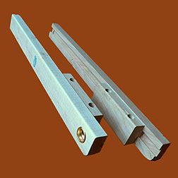 Pair Of Wooden Drop Leaf Table Supports, Slide Out Type X 291934