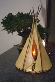 Rawhide Indian Teepee LRG-TEEPEE