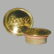 Brass Oil Lamp Filler Cap Rayo B-9515