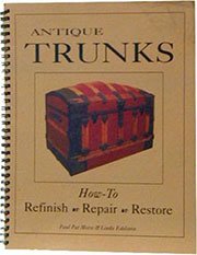 Restore Antique Trunks How to Book