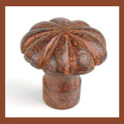 Rusty Cast Iron Knob DV-1041 DV-02003857