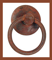 Ring Pull Cast Iron DV-1044 DV-02003871