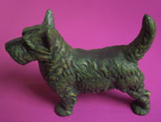 Discontinued, will not ship, Cast Iron Scottie Dog Door Stop AA-13315