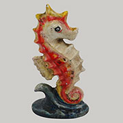Aquatic Nautical Cast Iron Seahorse Bottle Opener by Homart HA-1623-0