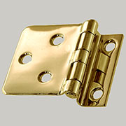 Sellers Offset Brass Hinge Sold by Each Not Pairs I-47 BM-1628PB