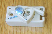 Baby Crib Bed Latch for Slide Beige KCRIBLATCH-B