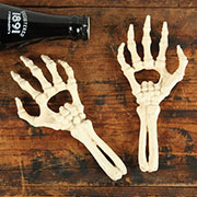Skeleton Hand Bottle Opener in Cast Iron by Homart
