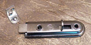 Nickel Door Bolt Catch M-123N