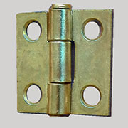 Small Brass Butt Hinge H-6661P