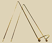 Medium Brass Picture Easel D-9616