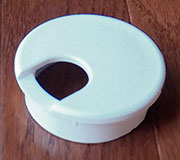 1-7/8 Inch Hole Size White Wire Grommet 6727-10