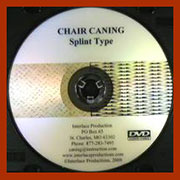 Splint Type Chair Weaving DVD V-0014