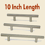 (C)Stainless Steel Bar Pull HC-9525-100 10 Inches Long