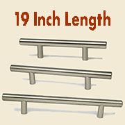 (F)Stainless Steel Bar Pull HC-9528-100 19 Inches Long